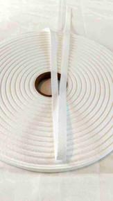 "Heavyweight 3/8"" white twill tape, 72 yard rolls"
