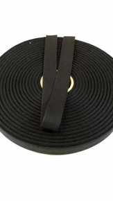 "LIghtweight j3/4"" black twill tape, 72 yard roll"