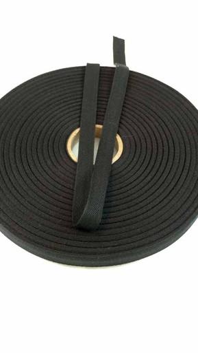 """Lightweight 1/2"""" black twill tape, 72 yard roll"""