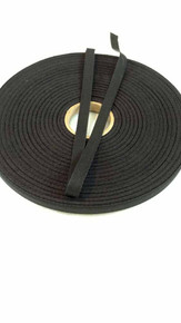 "Lightweight 3/8"" black twill tape, 72 yard roll"