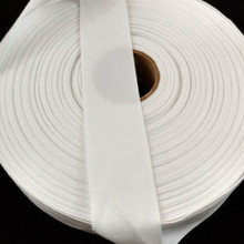 "Polyester Twill Tape 1 1/4"", 72 yard roll"