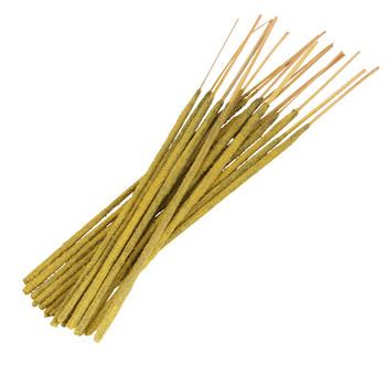 JASMINE HALMADDI -CHAMPA HALMADDI - A champa type stick incense highlighting jasmine flower made with halmaddi resin, sandalwood, jaggery, and more.