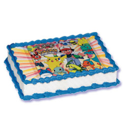 Pokemon Xtreme Image Cake Kit