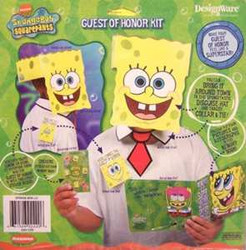 Spongebob Guest of Honor Kit