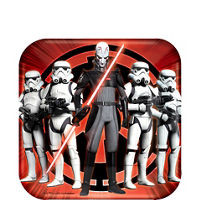 Star Wars Rebels Dessert Plates 8 Count