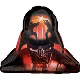 "Star Wars Darth Veder 28"" Helmet twosided Foil Balloon 747572"