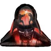 """Star Wars Darth Veder 28"""" Helmet twosided Foil Balloon 747572"""