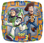 "Toy Story 3 18"" Group Square Foil Balloon"