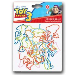 Toy Story 18pc Rubber Band Bracelets