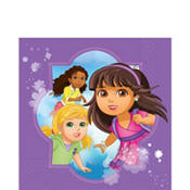 Dora & Friends Lunch Napkins 16 Count