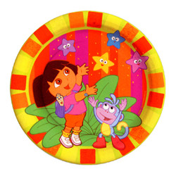 "Dora Starcatcher Party 7"" Dessert Plates 8 ct."