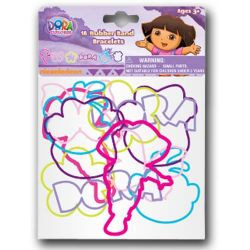 Dora 18pc Rubber Band Bracelets