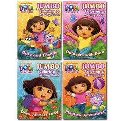 Dora the Explorer 96 page Coloring& Activity Book