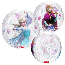 "Disney's Frozen 16"" Clear Orbz Balloon"