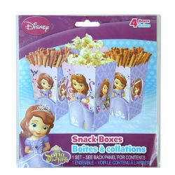 Sofia the First 4 pk Snack Boxes