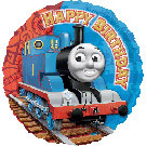 "Thomas Happy Birthday 18"" Balloon"