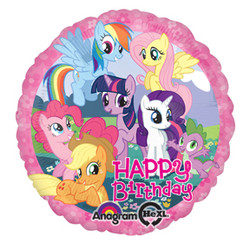 "My Little Pony 17"" Birthday Balloon"