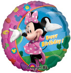 "Minnie Happy Birthday 18"" Foil Balloon"