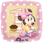 "Minnie 1st Birthday 18"" Foil Balloon"