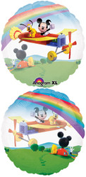 "Mickey's Clubhouse 26"" See-Thru Foil Balloon"
