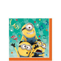 Despicable Me Beverage Napkins 16 Count