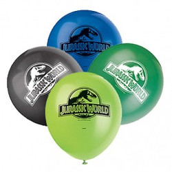 "Jurassic World 12"" Latex Balloons 8 Count"