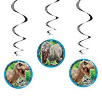 Jurassic World Hanging Decorations 3 Count