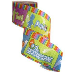 Backyardigans Party Crepe Streamer