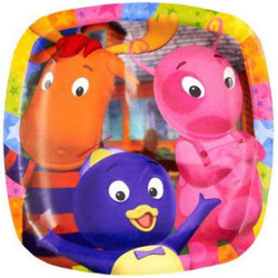 "Backyardigans  Pocket 9"" Dinner Plates 8 Pack"