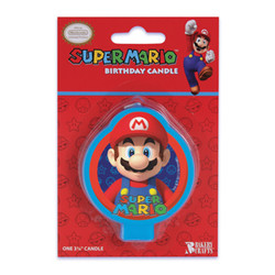 SUPER MARIO BIRTHDAY CANDLE