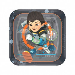 Miles From Tomorrowland Square Dessert Plates 8 count
