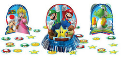 Super Mario Table Decorating Kit 23pc