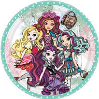 Ever After High Lunch/Dinner Plates 8ct