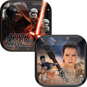 Star Wars Episode VII The Force Awakens Dessert Plates 8ct