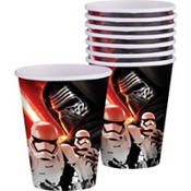 Star Wars Episode VII The Force Awakens Cups 8ct