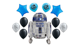 Star Wars R2-D2 Balloon Bouquet 11 Ct.