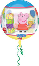 Peppa Pig Orbz Balloon Pack, 16""