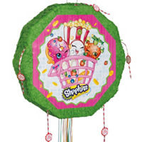 Pull String Shopkins Drum Pinata