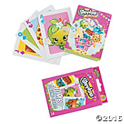 Shopkins Playing Cards -- Set of  Jumbo Shopkins Card Game for Kids