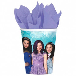 Disney Descendants Cups, 9 oz. pack of 8