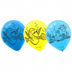 Disney Pixar Finding Dory Printed Latex Balloons 6 pack