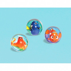 Disney Pixar Finding Dory Bounce Balls 6 pack