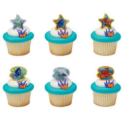 Finding Dory Adventure is Brewing Cupcake Rings 12 pack