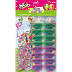 Shopkins Mega Mix Value Pack 48 Pieces Party Favors