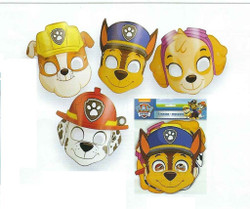 Unique Skye Girl Paw Patrol 8 Pack Paper Mask
