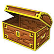 "8-Bit Treasure Chest 8"" x 5½"""