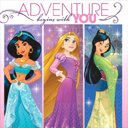 Disney Princess Dream Big Beverage Napkins (16 pack)