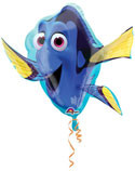 """LARGE SHAPE FINDING DORY 30"""" FOIL BALLOON"""