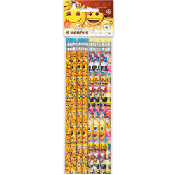 EMOJI PENCILS (8 PACK)
