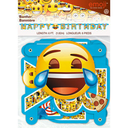 EMOJI JOINTED LARGE BANNER
